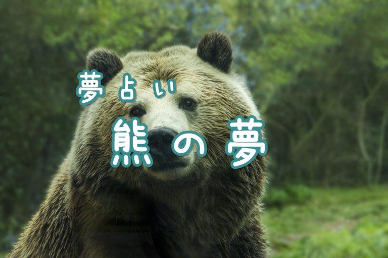 夢 襲 熊 に われる
